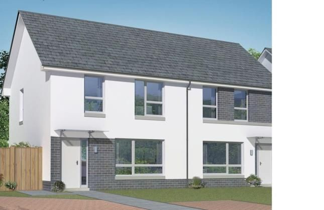 Thumbnail Semi-detached house for sale in Kings View, Prospecthill Circus, Glasgow