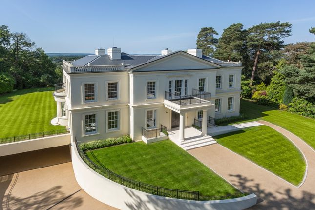 Thumbnail Detached house for sale in Tor Lane, St, George's Hill, Weybridge, Surrey