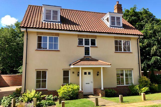 Thumbnail Detached house for sale in Grange Park Drive, Woodbridge, Suffolk