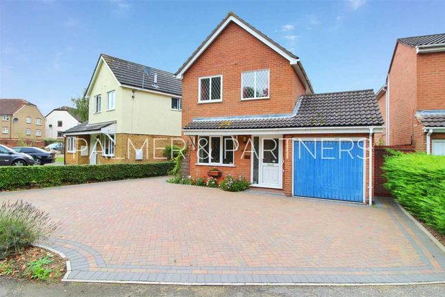 Thumbnail Detached house for sale in Sea King Crescent, Highwoods, Colchester