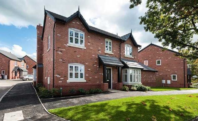 Thumbnail Detached house for sale in Holmes Chapel Business Centre, Manor Lane, Holmes Chapel, Crewe