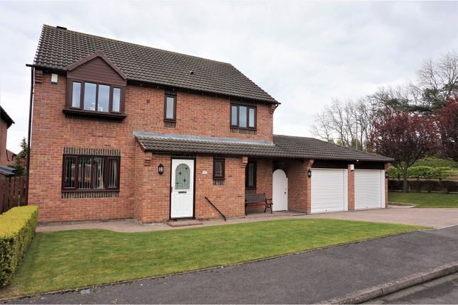 Thumbnail Detached house for sale in Oughton Close, Yarm