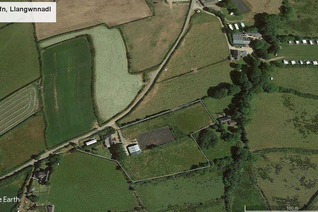 Thumbnail Detached bungalow for sale in Llangwnadl, Pwllheli