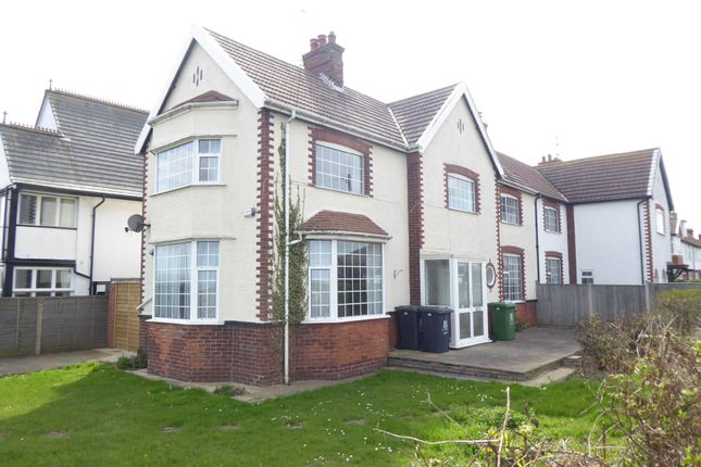Thumbnail Semi-detached house to rent in Marine Parade, Gorleston, Great Yarmouth