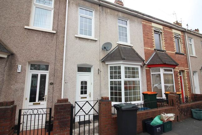 Thumbnail Terraced house to rent in Stockton Road, Newport, Gwent