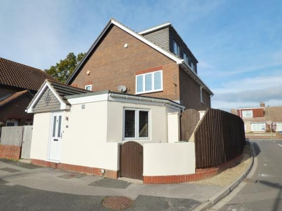 Thumbnail End terrace house for sale in Sunningdale Close, Gosport