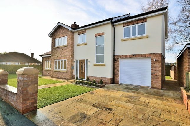 Thumbnail Detached house for sale in Kingsley Road, Chester