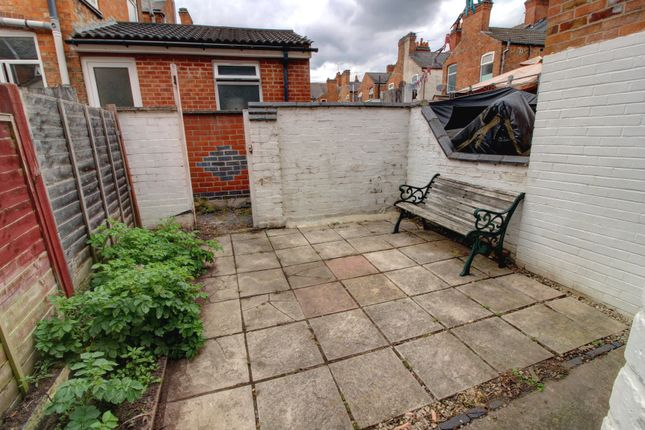Rear Yard of Western Road, Leicester LE3