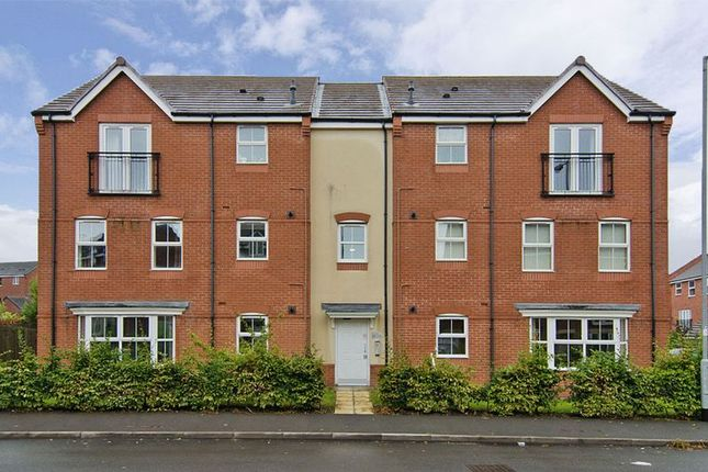 Thumbnail Flat for sale in Colliers Way, Huntington, Cannock