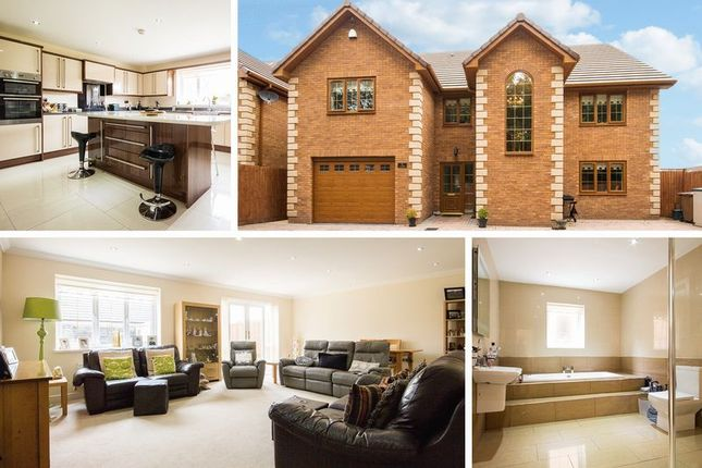 Thumbnail Detached house for sale in Sir Ivors Road, Pontllanfraith, Blackwood