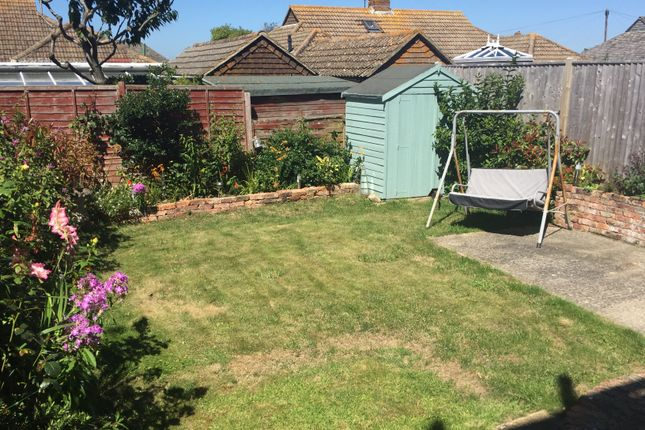 Rear Garden of Eastbourne Road, Pevensey Bay BN24