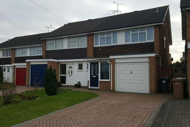 Thumbnail Semi-detached house to rent in Chestnut Walk, Broomfield, Chelmsford