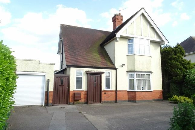 Thumbnail Detached house to rent in Leicester Road, Hinckley