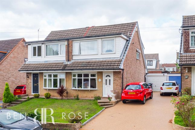 3 bed semi-detached bungalow for sale in Mendip Road, Clayton-Le-Woods, Chorley PR25