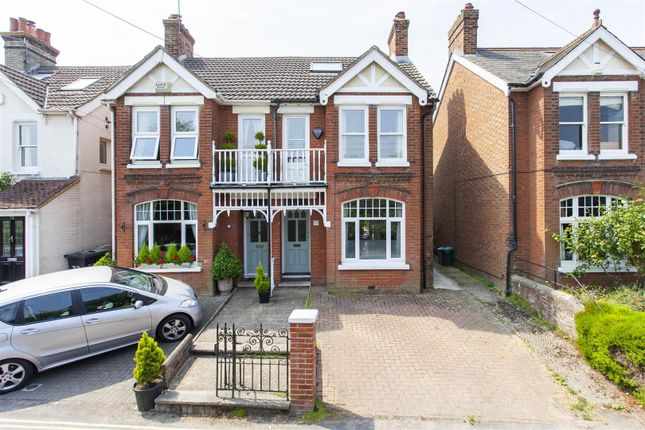 Thumbnail Semi-detached house for sale in Norman Road, West Malling
