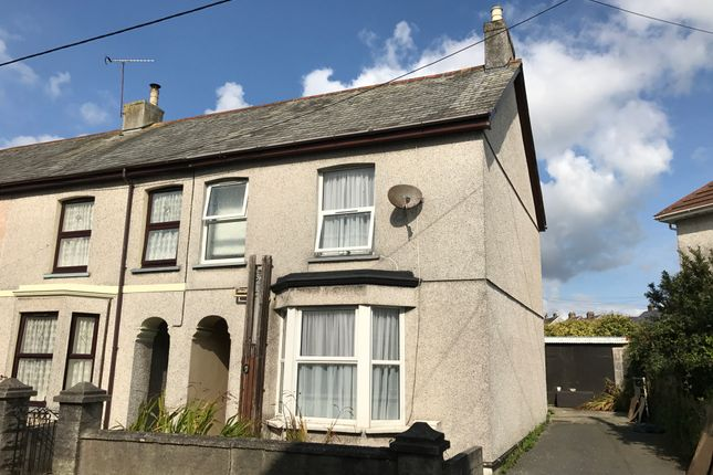Thumbnail End terrace house to rent in Polkyth Road, St Austell
