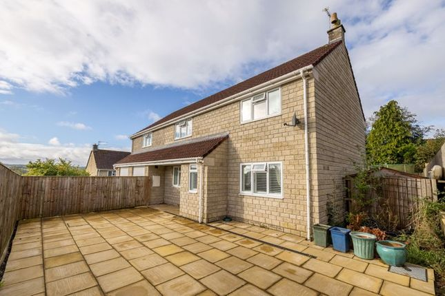 Thumbnail Detached house for sale in Top Wood, Holcombe, Radstock