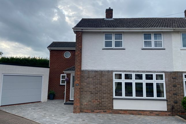 4 bed semi-detached house for sale in Somerfield Close, Shelfield, Walsall WS4