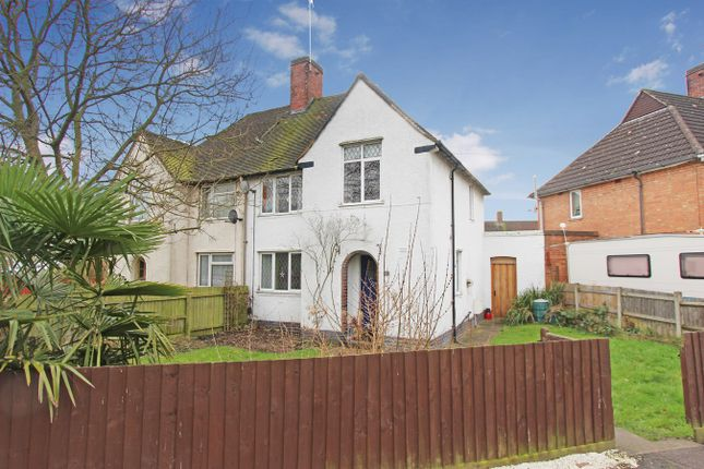Thumbnail Semi-detached house for sale in Astley Close, Leicester
