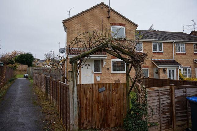 Thumbnail End terrace house for sale in Cedar Way, Haywards Heath