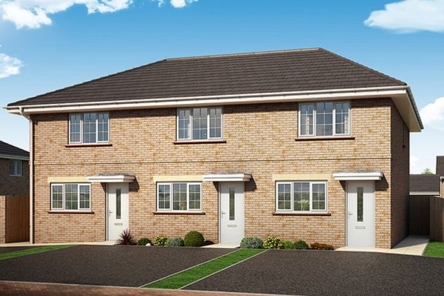 Thumbnail End terrace house for sale in Francis Gate, Boars Tye Road, Silver End, Witham