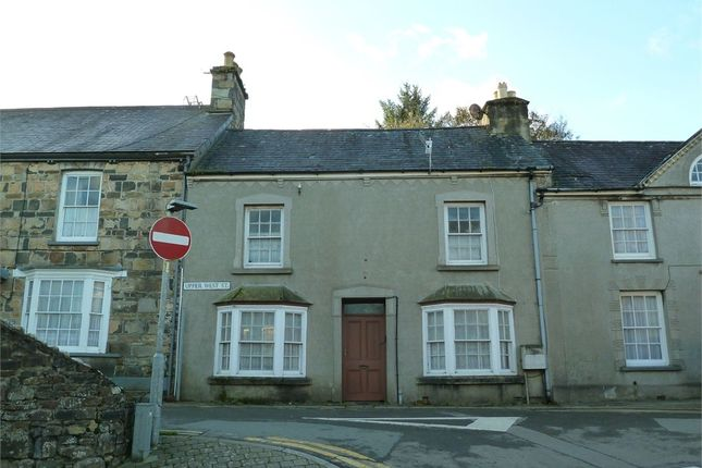 Thumbnail Terraced house for sale in Upper West Street, Newport, Pembrokeshire