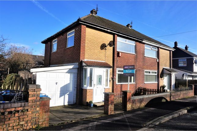 Thumbnail Semi-detached house to rent in Broadbent Road, Oldham