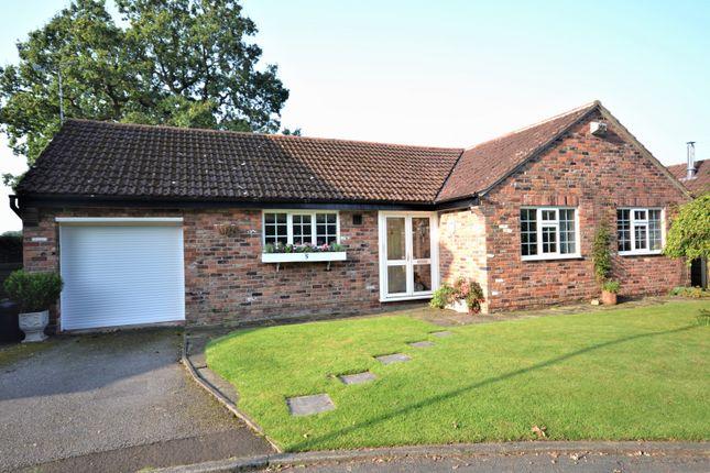 Thumbnail Detached bungalow for sale in Netherfields, Alderley Edge
