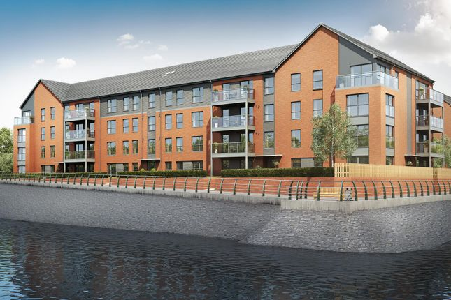 "Thumbnail Flat for sale in ""Seabear"" at Whimbrel Way, Braehead, Renfrew"