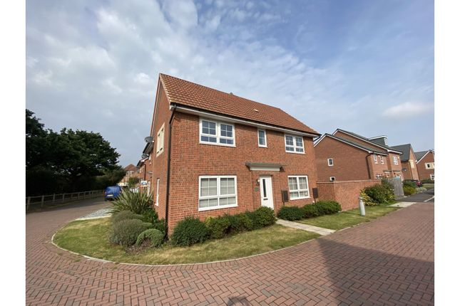 3 bed semi-detached house to rent in Aurelius Way, Lincoln LN6