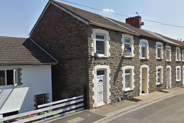 Thumbnail End terrace house to rent in Tower Street, Treforest, Pontypridd