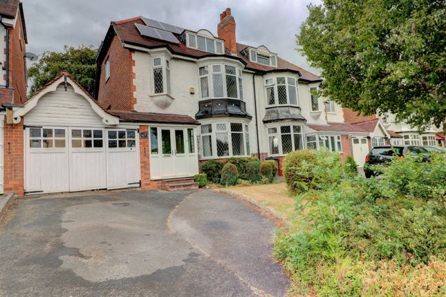 Thumbnail Semi-detached house for sale in Grange Road, Erdington, Birmingham