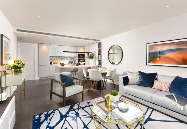 Thumbnail Flat for sale in Belvedere Row, White City Living, White City
