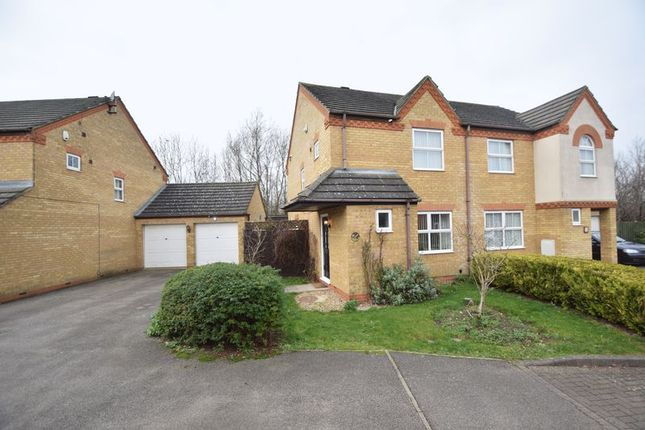 Thumbnail Semi-detached house for sale in Fisher Close, Barton-Le-Clay, Bedford