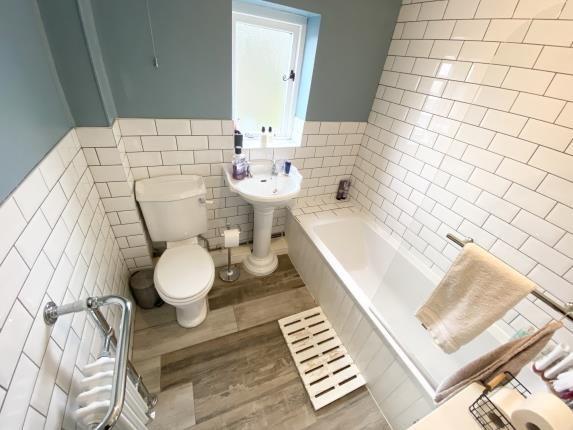 Bathroom of Cilcain Road, Gwernaffield, Mold, Flintshire CH7