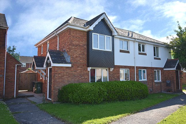 Thumbnail Flat for sale in Chantry Meadow, Alphington, Exeter