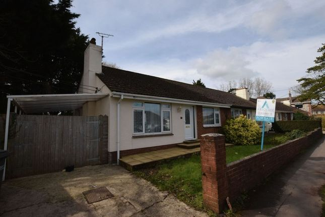 Thumbnail Semi-detached bungalow for sale in Borough Road, Paignton