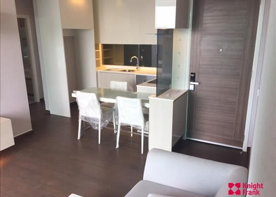 Apartment for sale in Q Asoke, 2 Bedroom 2 Bathroom, 64.92 Sqm. Fully Furnished