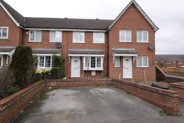 Thumbnail Terraced house for sale in Hunters Ridge, Highwoods, Colchester