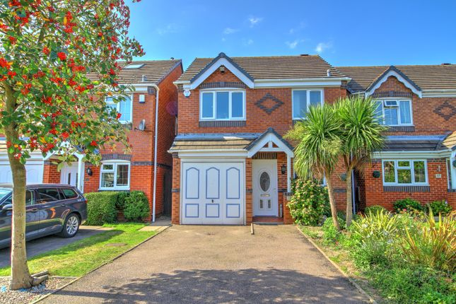 Thumbnail Detached house for sale in Thistle Croft, Wednesfield, Wolverhampton