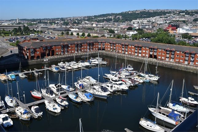 Thumbnail Flat to rent in Meridian Wharf, Maritime Quarter, Swansea