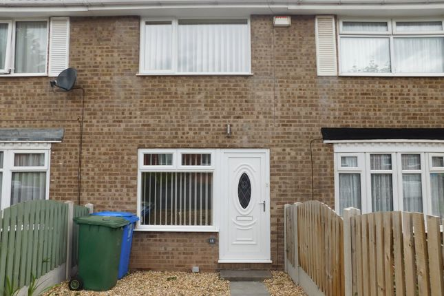 Thumbnail Town house to rent in Almond Rise, Forest Town, Mansfield