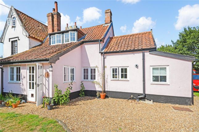 Thumbnail Semi-detached house for sale in Chequers Lane, Bressingham, Diss