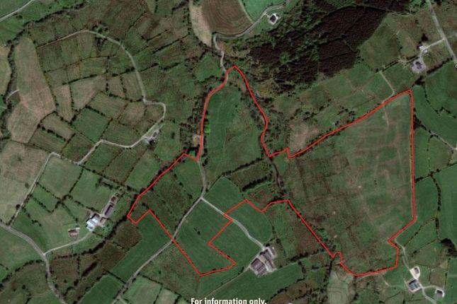 Aerial-Map of Legatillida Road, Fivemiletown BT75