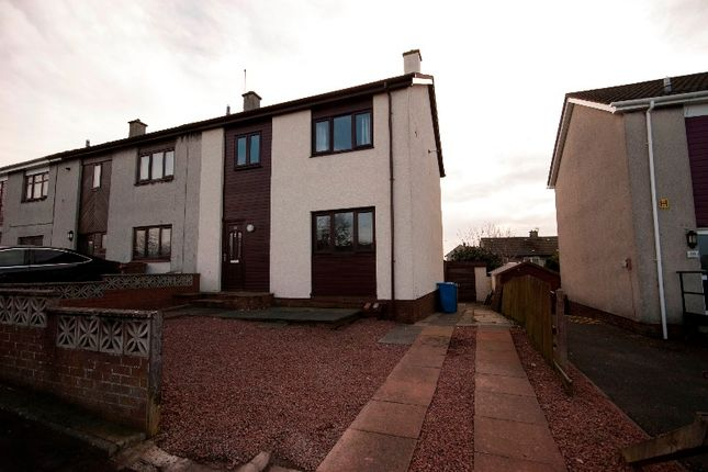 Thumbnail Semi-detached house to rent in Drumley Avenue, Mossblown, South Ayrshire