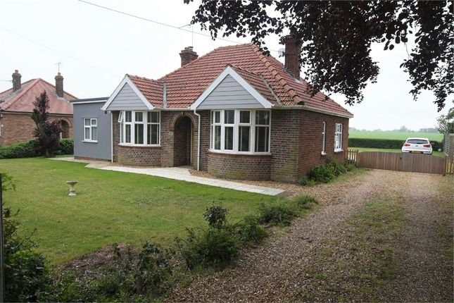 Thumbnail Detached bungalow for sale in Lynn Road, Grimston, King's Lynn