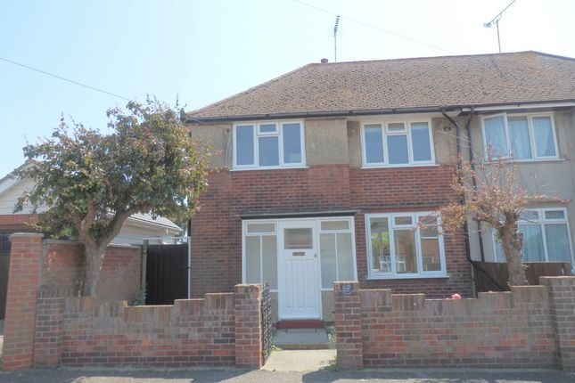 Thumbnail Semi-detached house to rent in Mayflower Avenue, Harwich