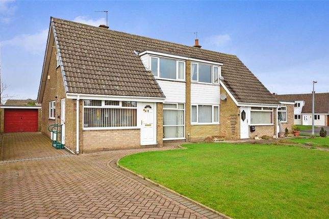 Thumbnail Semi-detached bungalow for sale in The Meadows, Howden