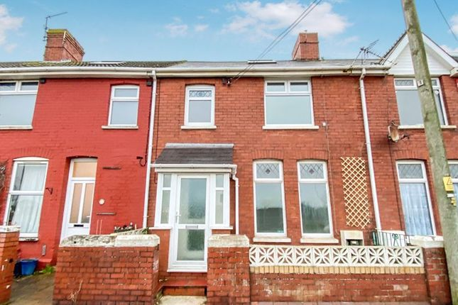 3 bed terraced house for sale in Torbay Terrace, Rhoose, Barry CF62