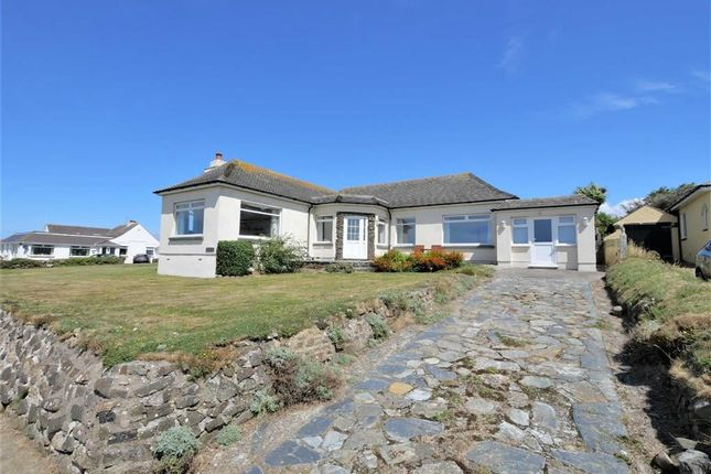 Thumbnail Detached bungalow for sale in Marine Drive, Widemouth Bay, Bude, Cornwall